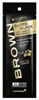 Brown Super Black Very Dark HOT Bronzing Lotion 15 ml